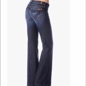 7 For All Mankind Dojo Flare Jeans 29 x 31